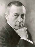 Sergei Rachmaninov Russian Composer Fotografie-Druck