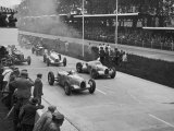 The German Grand Prix Won by Nuvolari Driving a Modified Alfa P.3 Photographic Print