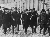 Woodrow Wilson, Georges Clemenceau, Arthur Balfour, and Baron Sonnino Photographic Print