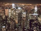 Downtown City at Night Reprodukcja zdjęcia