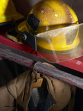Firefighting Gear Photographic Print