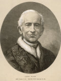 Pope Leo XIII (Gioacchino Vincenzo Raffaelle Luigi Pecci) at the Time of His Death Photographic Print