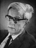 Max Delbruck, American Biologist, Photographic Print