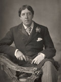 Oscar Wilde Fotografie-Druck von Downey 