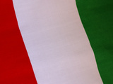 Detail of Flag Photographic Print