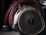 Fire Hoses Photographic Print