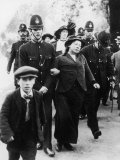 Suffragettes Being Arrested Near Buckingham Palace Photographic Print