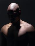 Male Nude in Shadows Reprodukcja zdjęcia