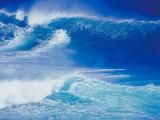 An Ocean Wave in Hawaii Reprodukcja zdjęcia