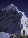 South Summit of Everest with Oxygen Bottles, Nepal Print by Michael Brown