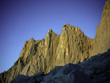 Mt. Whitney Infront of Bright Blue Sky in California, USA Prints by Michael Brown