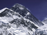 Mount Everest, Nepal Photographic Print by Michael Brown