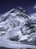 Mount Everest and the Landscape That Surrounds It, Nepal Posters by Michael Brown