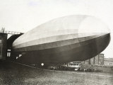 The Dirigible 'Count Zeppelin' Photographic Print