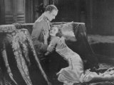 Greta Garbo (Real Name Greta Lovisa Gustafsson) Swedish Actress in a Scene with Conrad Nagel Fotografie-Druck