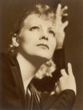 Greta Garbo (Real Name Greta Lovisa Gustafsson) Swedish Actress Photographic Print