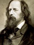 Half-Length Portrait of the Famous English Poet Alfred Tennyson Photographic Print
