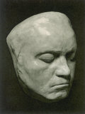 Ludwig Van Beethoven Death Mask of the German Composer Photographic Print