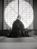 Kyoto: Temple of Gyoji, the Abbess Writes Photographic Print