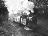 Steam Train on the Southern Region Nr Photographic Print