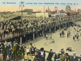 Coney Island New York on a Popular Holiday Photographic Print