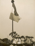 Suffragettes Speaking at a Hyde Park Demonstration Photographic Print by H. Searjeant