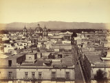 Panoramic View of a Mexican City Photographic Print