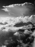 Climbing up Breithorn, Peak of the Monte Rosa Range Photographic Print