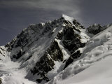 Mt. Cook Covered in Snow, New Zealand Photographic Print by Michael Brown