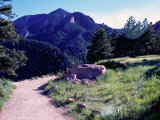 Path to Mountains, Boulder Photographic Print by Michael Brown