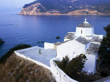 The Coast of the Island of Skopelos, in Greece Photographic Print