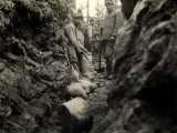 Communication Trenches on the Outskirts of Rocca Di Monfalcone Photographic Print