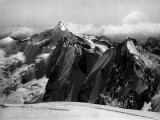 View of Mount Disgrazia Located in the Lombardian Alps Photographic Print