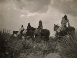 Before the Storm, Apache Poster by Edward S. Curtis
