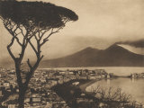 View of the Bay of Naples Photographie