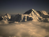 Sunset in Nepal Reprodukcja zdjęcia autor Michael Brown