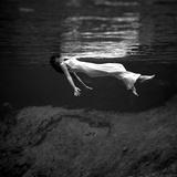 Zeemeermin in Weeki Wachee Springs, Florida Foto van Toni Frissell