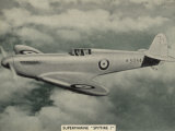 "The ""Spitfire"" as It Appears at the Outbreak of World War Two a Magnificent Machine Photographic Print"