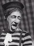 Portrait of Clown Impressão fotográfica