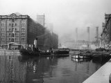 Liverpool Docks Photographic Print