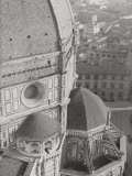 Dome of the Cathedral of Santa Maria Del Fiore, Florence Fotografisk tryk af Filippo Brunelleschi