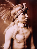 Shows As He Goes Affiches par Edward S. Curtis