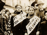 Protest against Child Labor, New York, 1909 Foto