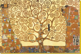 The Tree of Life, Stoclet Frieze, c.1909 Stretched Canvas Print by Gustav Klimt