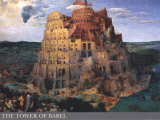 The Tower of Babel, c.1563 Art by Pieter Bruegel the Elder