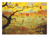 Apple Tree with Red Fruit, c.1902 Prints by Paul Ranson