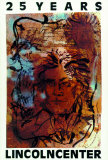 25 Years - Lincoln Ctr 1984 Serigraph by Julian Schnabel