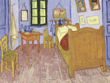 The Bedroom at Arles, c.1887 ポスター : フィンセント・ファン・ゴッホ