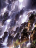Romona Falls in Mt. Hood area, Oregon Cascades Photographic Print by Janis Miglavs