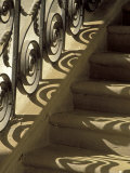 Wrought Iron Shadows, Charleston, South Carolina, USA Photographic Print by Julie Eggers
